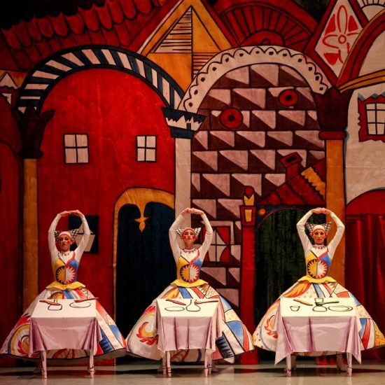 "Ballet Russes' Heritage: ballets ""The Tale of the Buffoon"" (Prokofiev/Miroshnichenko) and ""Les Noces"" (Stravinsky/Kylian) by Perm Ballet"