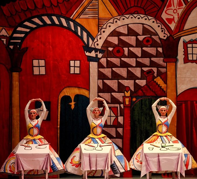 """Ballet Russes' Heritage: ballets """"The Tale of the Buffoon"""" (Prokofiev/Miroshnichenko) and """"Les Noces"""" (Stravinsky/Kylian) by Perm Ballet"""