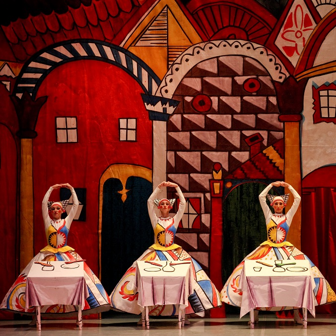 "Ballet Russes' Heritage: ballets ""The Tale of the Buffoon ..."
