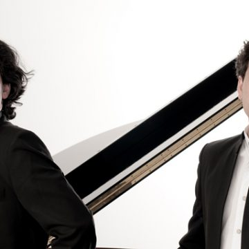 "Concert 2 grand pianos ""Ballets Russes"". Spanish motives. by Spanish duet Moreno Gistain Piano Duo"
