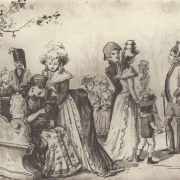 Открытие выставки «Серебро и золото Пиковой дамы» к 175-летию П.И. Чайковского совместно с Государственным Эрмитажем.