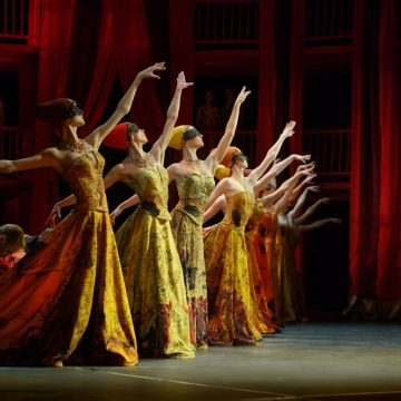 """Ballet """"Romeo and Juliet"""" by Ekaterinburg State Academic Opera and Ballet Theatre."""