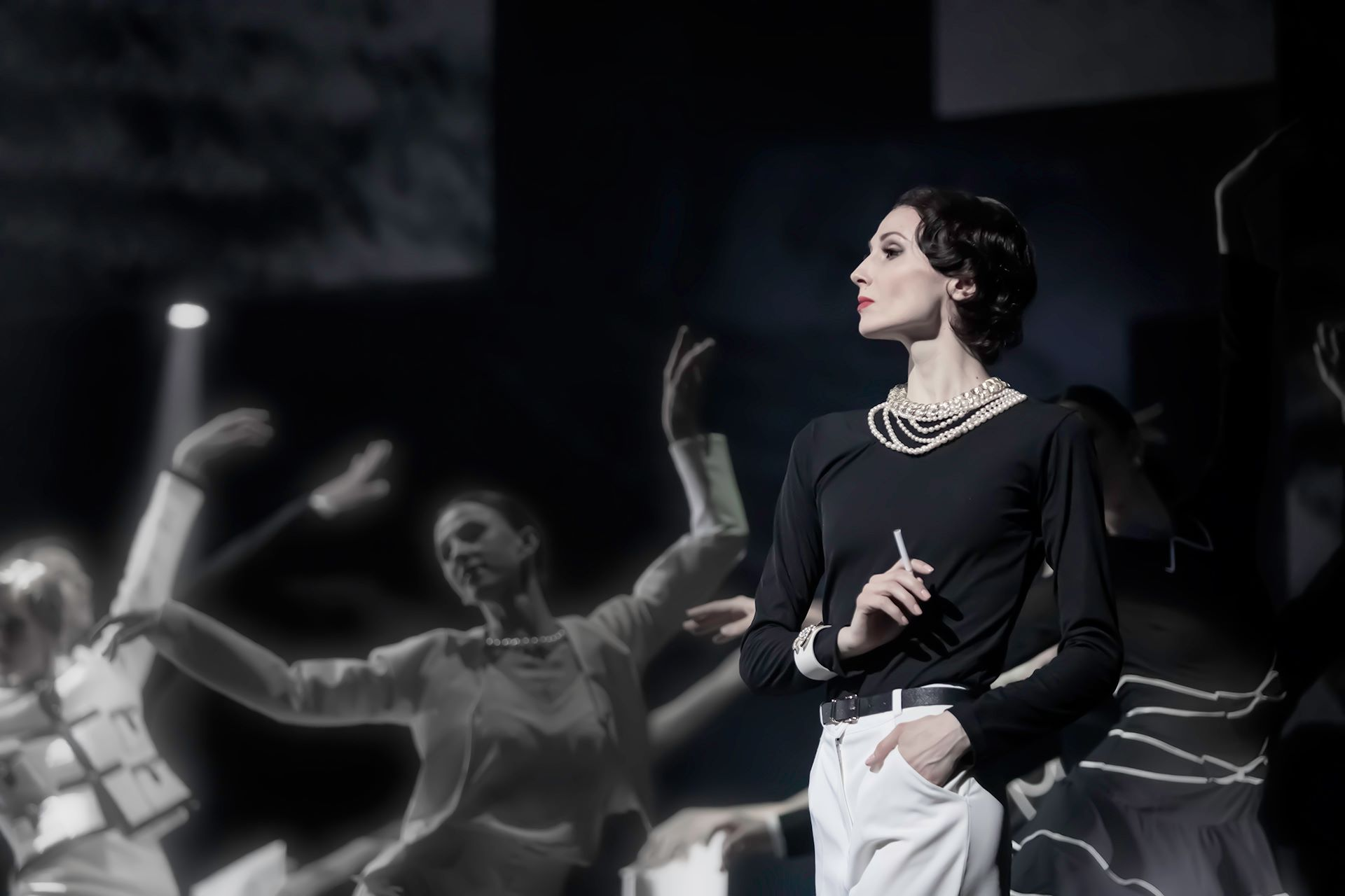 "Svetlana Zakharova and the Bolshoi Theatre. MODANSE: ""Like a Breath"" and ""Gabrielle Chanel"""